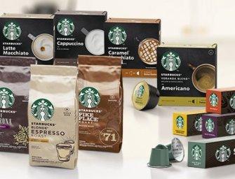 Nespresso et Nescafé Dolce Gusto lancent une gamme Starbucks