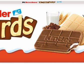 Kinder Cards, le nouveau biscuit Kinder