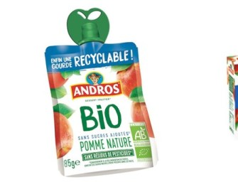 Andros sort la 1ère gourde 100% recyclable