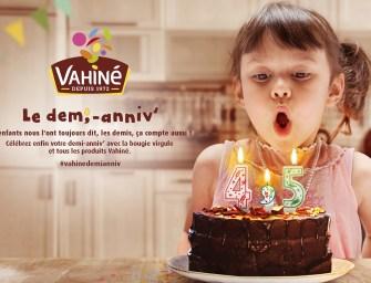 Les demi-anniversaires de Vahiné