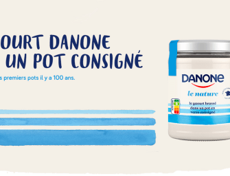 Danone consigne ses yaourts sur Loop