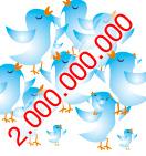 2 Milliarden Tweets im Monat