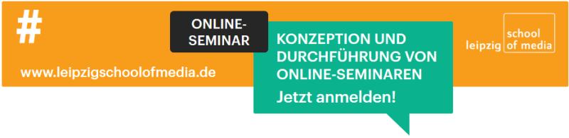 Online-Workshop: Konzeption & Durchführung von Online-Seminaren