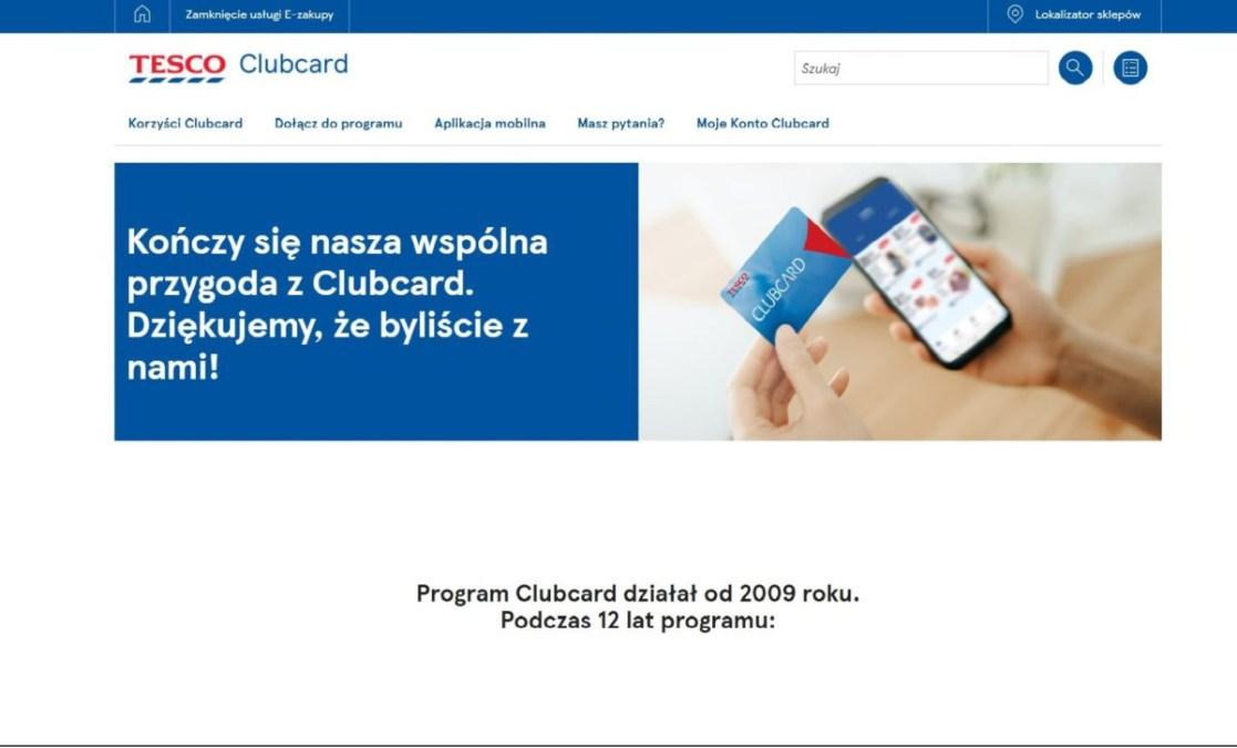 Adios Tesco Clubcard - Tomasz Makaruk