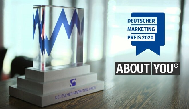 ABOUT YOU - Gewinner Deutscher Marketing Preis 2020