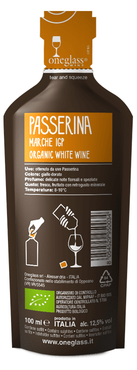 oneglass passerina marche igp