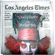 Una publicidad en la portada de Los Angeles Times causa polémica