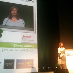 """Elena Gómez (FECEMD): """"España puede salir de la crisis gracias a internet"""""""