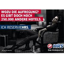 El cantante de Tokio Hotel ficha por un portal de reserva de hoteles