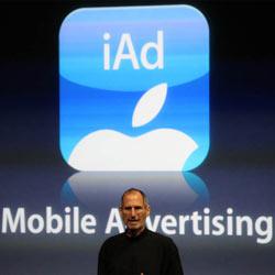 Apple contraataca a Google con su plataforma de publicidad móvil iAd