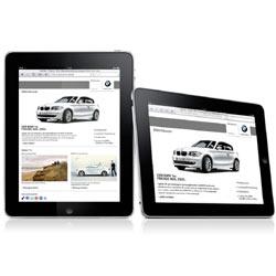 BMW lanza una aplicación para el iPad