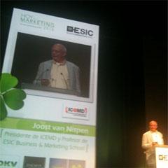 """""""El marketing online es marketing directo con esteroides"""", J. Van Nispen"""