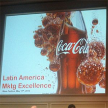 """""""Ya no pensamos en si debemos hacer algo digital, eso está ya en la concepción de la idea"""", L. Feres (Coca-Cola)"""