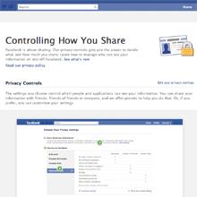 Facebook rediseña la privacidad