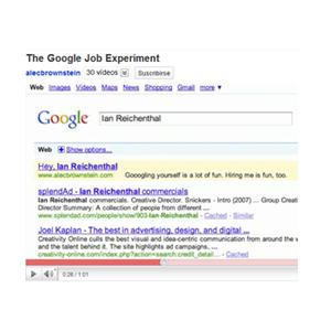 Un creativo consigue trabajo en Y&R con un anuncio de 6 dólares en Google