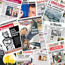 La prensa francesa crea un quiosco digital para competir con Google News