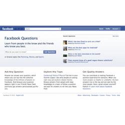 ¿Tiene una pregunta? Facebook le responde
