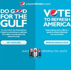 Pepsi da un giro a su estrategia publicitaria y se centra en proyectos sociales