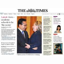 """La web de """"The Times"""" es ya completamente de pago"""