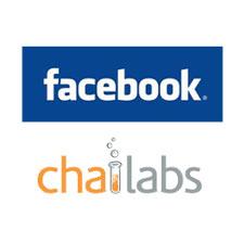 Facebook compra Chai Labs por 10 millones de dólares