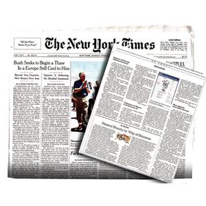 La edición impresa del New York Times tiene los días contados