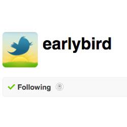 Twitter da carpetazo al servicio de ofertas y promociones exclusivas Early Bird