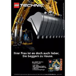 """Lego lanza una campaña publicitaria para """"niños grandes"""""""
