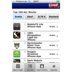 CHIP App-Guide, la aplicación espía que rastrea las mejores apps para el iPhone