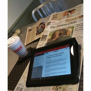 ¿El iPad salvará la industria periodística?