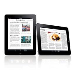 La prensa escrita se rinde a los encantos del iPad