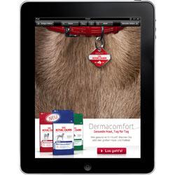 Royal Canin lleva el placer de acariciar perros al iPad