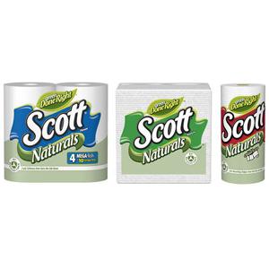 Kimberly-Clark elimina los tubos de cartón del papel higiénico
