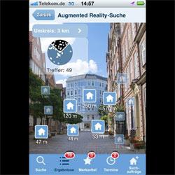 Buscar vivienda con el iPhone es ya posible gracias a una aplicación de realidad aumentada