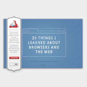 Google lanza un libro interactivo para enseñar cómo funciona internet