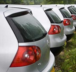 La inversión en el sector automovilístico cae un 38,1% en 2009