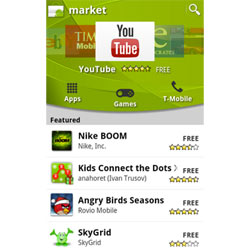 Android Market se renueva para facilitar la compra de aplicaciones al usuario