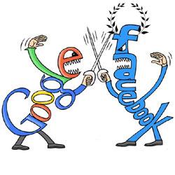 Facebook arrebató a Google la corona de internet en 2010