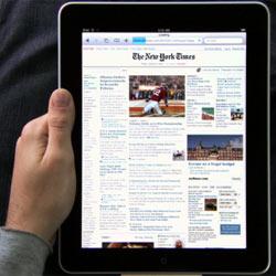 Los usuarios del iPad cambian los diarios de papel por las aplicaciones de noticias