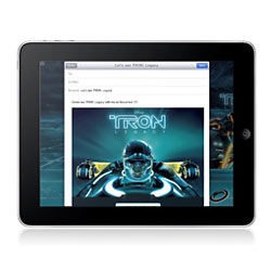 """La película """"Tron Legacy"""" protagoniza el primer anuncio de la plataforma iAd para el iPad"""