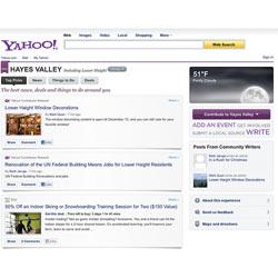 """Yahoo! apuesta por las búsquedas """"hiperlocales"""""""