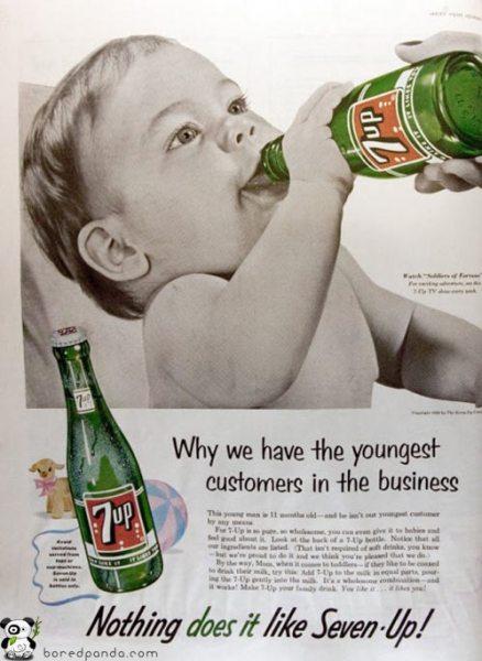 25 anuncios antiguos que hoy estarían prohibidos