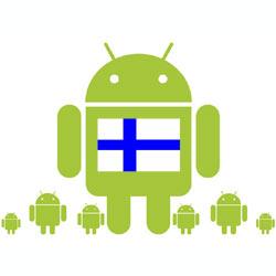 """Quien quiere un smartphone """"guay"""", compra Android, también en Finlandia"""