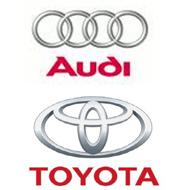 Audi y Toyota, las marcas que más fidelidad suscitan en automoción