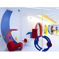 Google Londres, como trabajar en un parque infantil