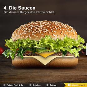 McDonald's invita a sus consumidores a crear la hamburguesa más original