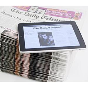 El iPad, ¿una herramienta cada vez menos atractiva para los periódicos?