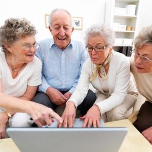 La penetración de internet entre los mayores de 65 años  crece más rápido que la media
