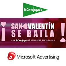 El Corte Inglés y Microsoft convierten Callao en pista de baile para celebrar San Valentín