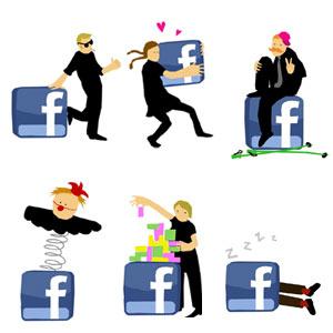 6 tipos de usuarios en Facebook