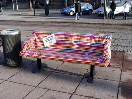 30 ejemplos de publicidad sobre la que te podrás sentar
